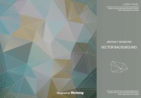 Contexte vectoriel polygonale abstrait