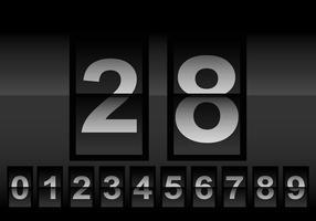 Vecteur de compteur de nombres