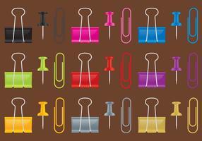 Vecteurs d'outils de bureau vecteur