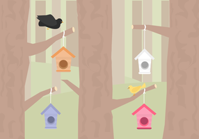 Vecteur libre d'oiseaux