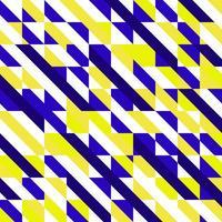 motif géométrique coloré bleu et jaune vecteur