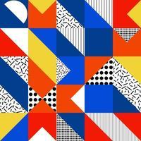 fond de courtepointe colorée géométrique