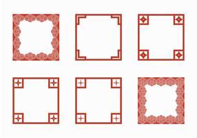 Illustration vectorielle gratuite de la frontière japonaise vecteur