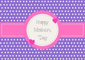 Bonne carte de la fête des mères