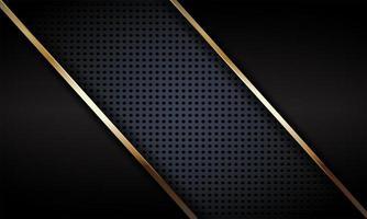 abstrait de luxe avec des éléments métalliques dorés