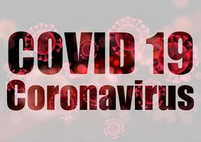 Covid 19 backgrouns médicaux coronavirus