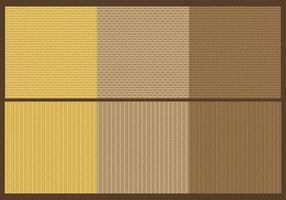Vecteurs de texture de sac vecteur