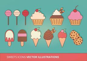 Collection d'icônes vectorielles vecteur