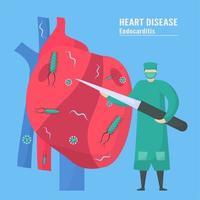 traitement cardiologique de l'endocardite vecteur