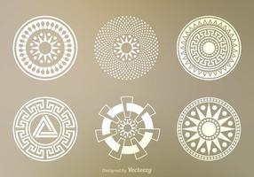 Vecteur libre de cercles de cultures