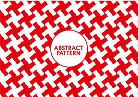 Motif rouge abstrait sans couture vecteur