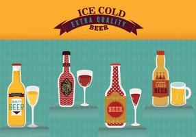 Bières graphiques créatives