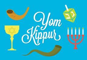 Yom Kippour vecteur