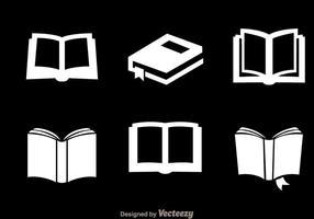 Lire les icônes blanches vecteur