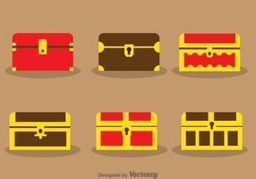 Vecteurs de coffre au trésor