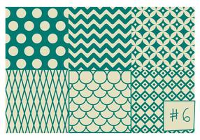 Free Mid Century Pattern # 6