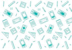 Free Iphone 6 Pattern # 6 vecteur