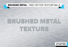 Texture de vecteur libre de métal brossé vol. 2