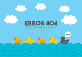 404 vecteur