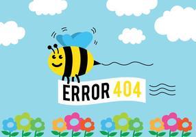 Fond de vecteur 404
