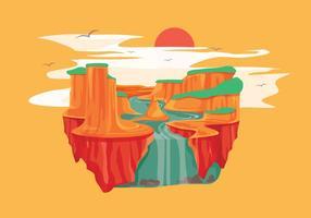 Grand canyon vector