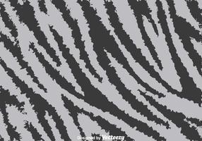 Fond gris d'impression Zebra vecteur