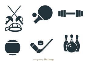 Vecteurs d'objets de sport