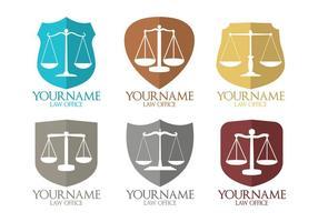 Logo du bureau d'avocat Vecteurs vecteur