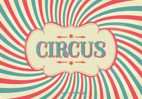 Affiche vintage de cirque vecteur