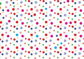 Vecteur de modèle de point de polka