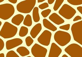 Vector de motif de girafe