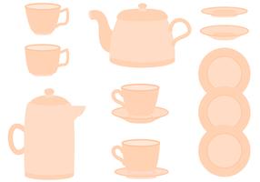 Vecteur de thé gratuit