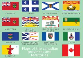Drapeaux canadiens