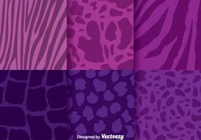 Abstrait Animal Purple Background vecteur