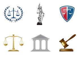 Vector de bureau de droit classique classique