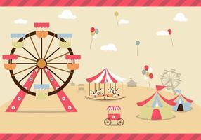Vecteur libre du comté fair