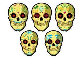 Vecteurs de crâne vecteur