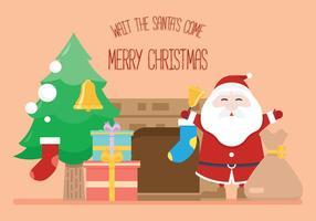Santa's Come vecteur