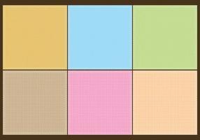Textures de sac colorés vecteur