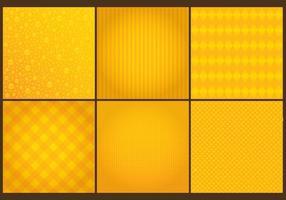 Vecteurs de fond jaune vecteur
