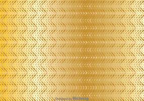 Fond géométrique Zig Zag en or vecteur