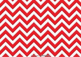 Fond zigzag rouge et blanc vecteur