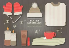 Winter Illustration Essentials vecteur