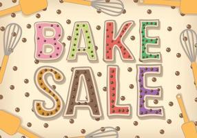 Vector de vente de boulangerie