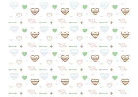 Free Heart Vector Pattern # 2