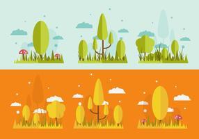 VITRE DE GRASS ET D'ARBRES GRATUIT
