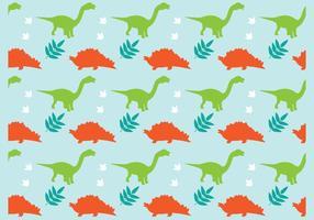 Contexte des dinosaures vecteur
