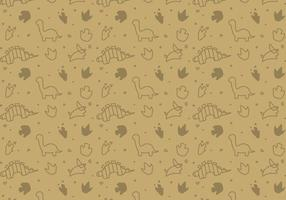 Free Dinosaur Pattern # 1 vecteur