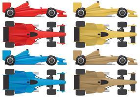 F1 vecteurs de voiture vecteur