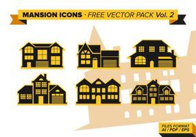 Icônes de manoir pack vectoriel gratuit vol. 2